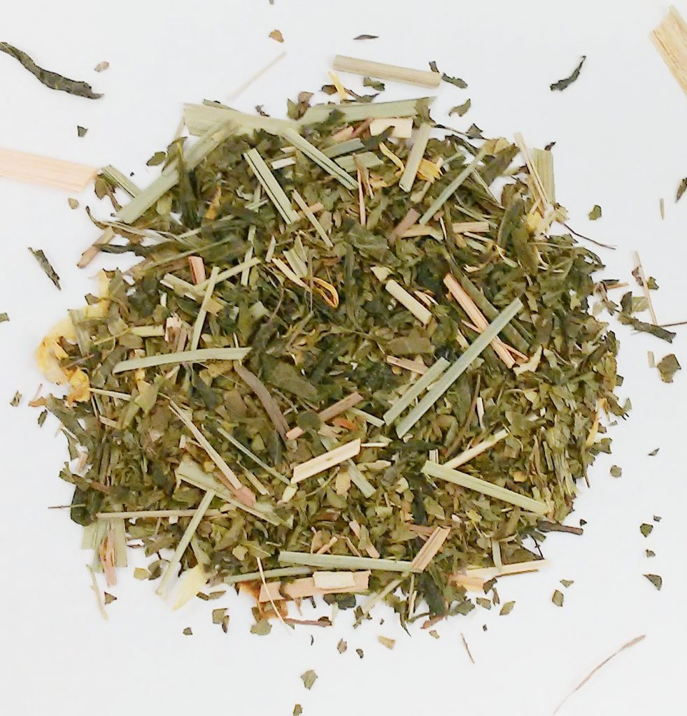 Citrus Mint green tea