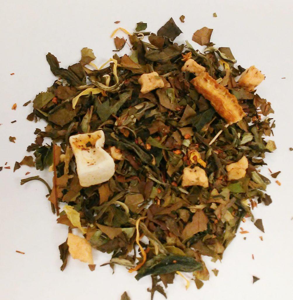 Fuzzy Navel white tea